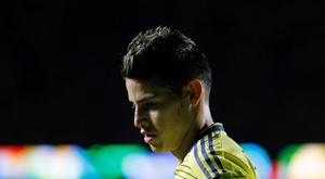 James suffered a knee injury. EFE