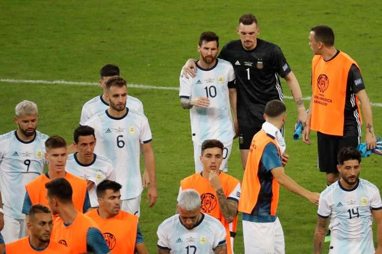 Argentina struggled in their 1-1 draw with Paraguay. EFE