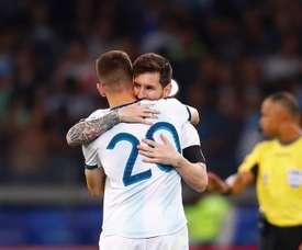 Le Brésil aide l'Argentine. EFE