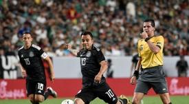 Luis Montes cayó lesionado. EFE