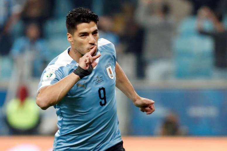 Suárez is currently the top goalscorer at the Copa América 2019. EFE