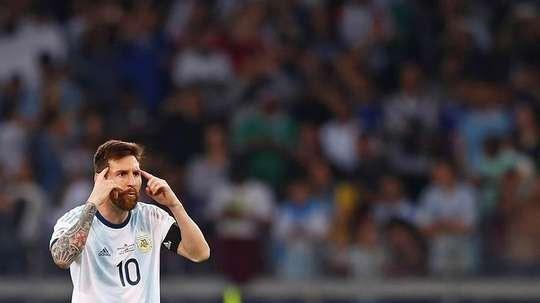 Les sanctions auxquelles Messi s'expose. EFE