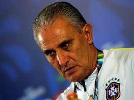 L'entraîneur du Brésil Tite. EFE