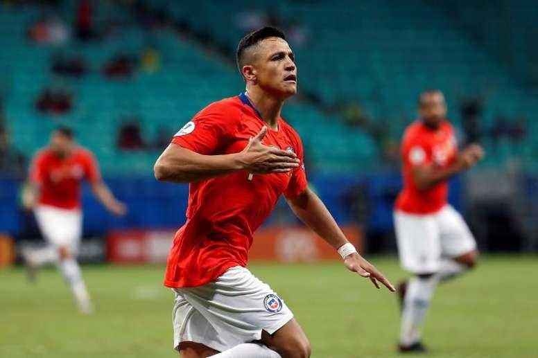 Alexis llegaría a los dos últimos amistosos del United. EFE