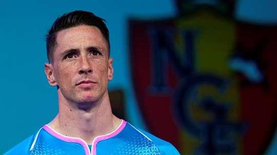 Torres vio la derrota desde el banquillo. EFE