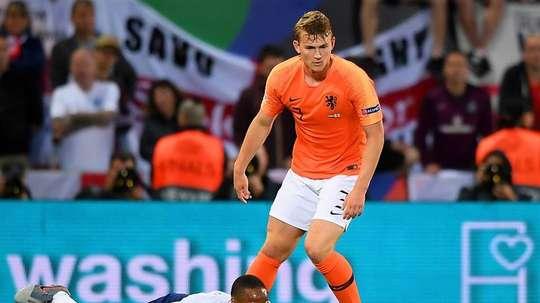 Ajax want Juventus to up their offer for Matthijs de Ligt. EFE