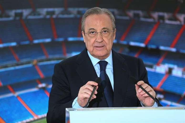 Florentino cité les deux buts qui l'ont fait se lever de son siège. EFE