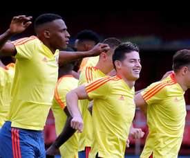 Lerma resta importancia al buen momento de Colombia. EFE