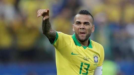Daniel Alves a reçu 3 propositions. EFE