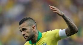 Aos 36 anos, Dani Alves perdeu espaço na seleção brasileira. EFE