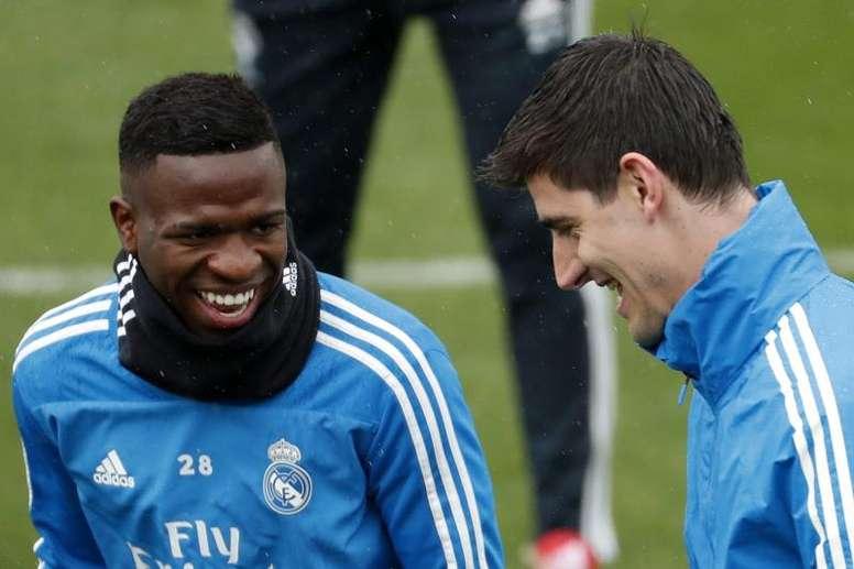 Le Real Madrid fait son retour au travail. EFE