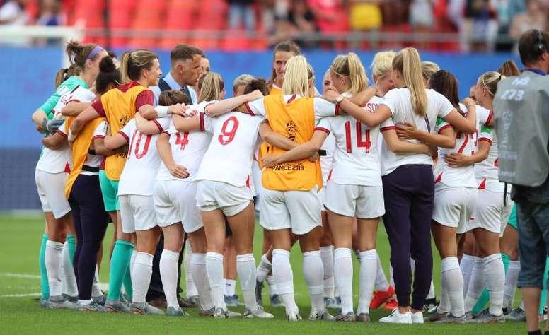 Inghilterra in semifinale del Mondiale. EFE/EPA