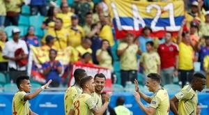 Colômbia - Venezuela: onzes iniciais confirmados. EFE