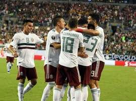 México ya conoce a su rival en cuartos de la Copa Oro. EFE