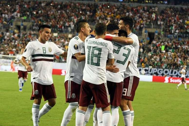 Corona subrayó varios fallos tras el 4-0 ante Argentina. AFP