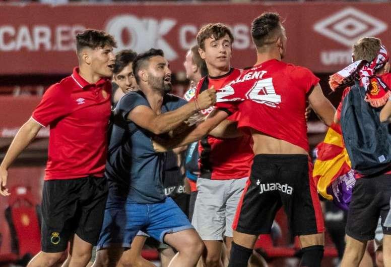 El Mallorca jugará ante el Platges de Calvia a puerta cerrada. EFE/Archivo