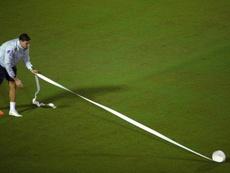 La Copa América está llamando la atención por el mal estado del césped. EFE