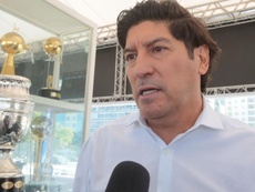 Zamorano habló de Radamel Falcao. EFE