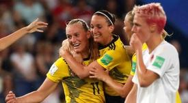 La crisis está golpeando duramente al fútbol femenino. EFE