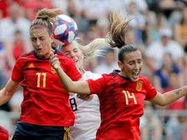 España cayó ante EE.UU por dos penaltis. EFE