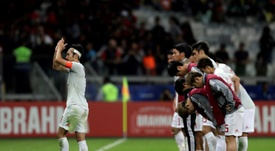 Paraguay gana desde el sillón. EFE