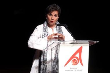 La eminencia mundial en cambio climático Christiana Figueres. EFE/Archivo