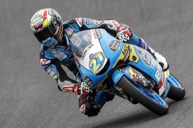 El piloto español de Moto3 Alonso López. EFE/Archivo