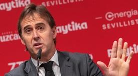 El Sevilla de Julen Lopetegui sigue enfocando su pretemporada. EFE