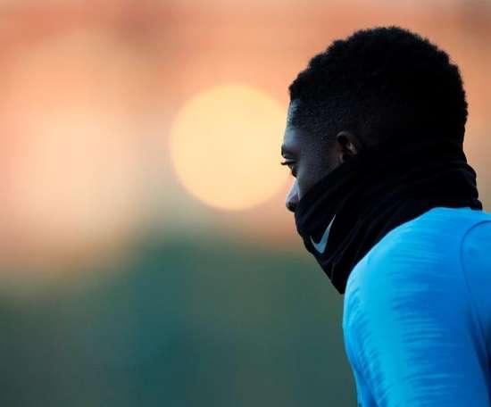 Dembélé a reçu plusieurs critiques en raison de son attitude. EFE