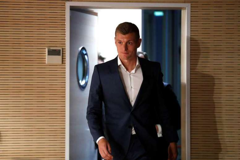 Kroos will not travel with Germany! EFE/Archivo
