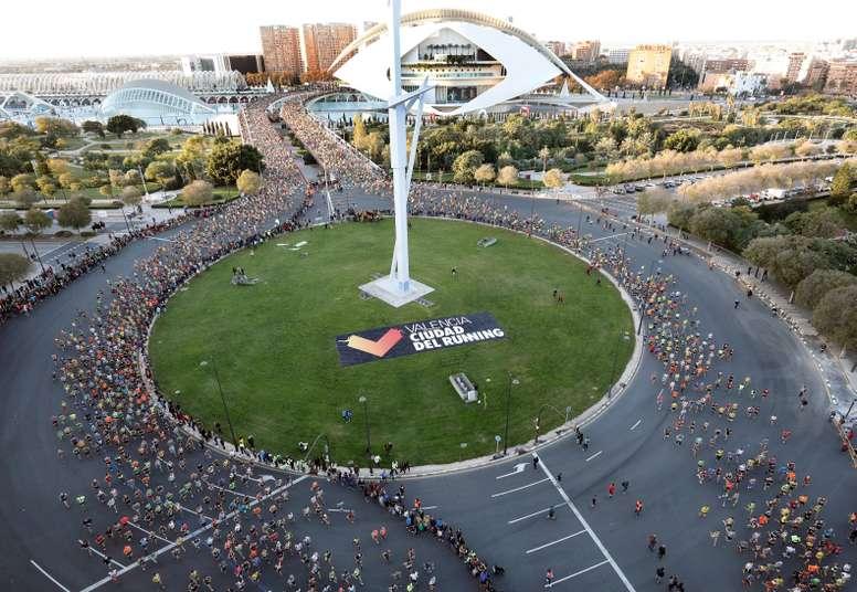 El maratón de Valencia agota sus 25.000 dorsales. EFE/Archivo
