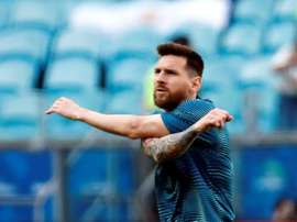 Les compos probables du match de Copa América entre le Venezuela et l'Argentine. EFE