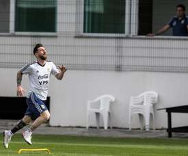 Messi has a chance to shine at the Maracanã tonight. EFE