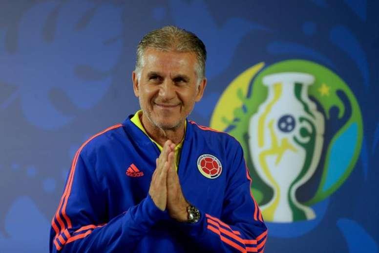 Queiroz quiere ganar la Copa América con Colombia. EFE