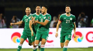 La Liga Argelina, cancelada. EFE