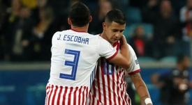 Derlis González suena para volver a Paraguay. EFE