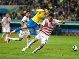 Paraguay ya piensa en el Mundial de Catar. EFE