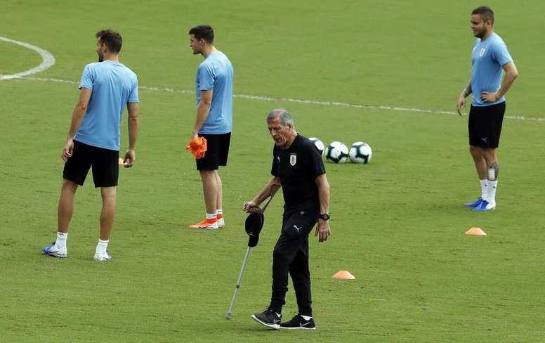 Uruguay were worried about the situation in Gaza prior to Argentina friendly. EFE
