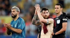 Agüero a fait des révélations sur sa relation avec Messi. EFE