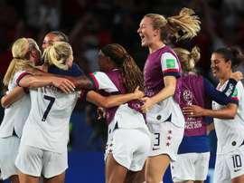 USA prima finalista del Mondiale. AFP