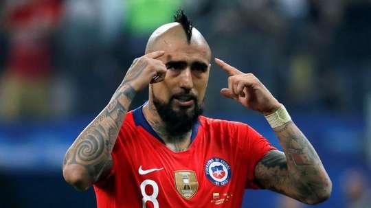 Arturo Vidal has already agreed a move with Inter. EFE