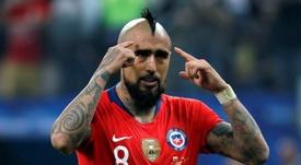Vidal, crítico pese al triunfo. EFE/Archivo