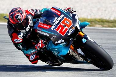 El piloto francés de MotoGP, Fabio Quartararo. EFE/ Enric Fontucberta/Archivo