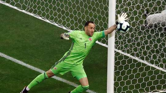 Ospina saw yellow and he will not be able to play against Juve. EFE