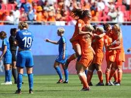 Les compos probables de la finale du Mondial féminin entre les USA et les Pays-Bas. EFE