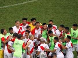 Le Pérou se qualifie pour la finale. EFE