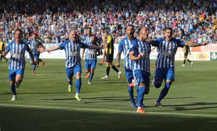 La Ponferradina venció cómodamente al Zamora. EFE