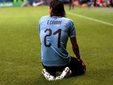 Cavani se quedó sin Copa América. EFE