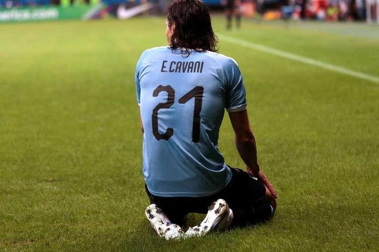 Óscar Tabárez convoca o Uruguai. EFE