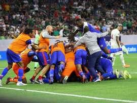 Les compos probables du match de Gold Cup entre Haïti et le Mexique. EFE